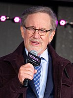 Steven Spielberg in 2018. He mentored Zemeckis and lent his experience and Hollywood studio clout to support the production of Back to the Future.