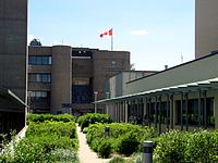 University of Toronto Scarborough is one of two post-secondary institutions located in Scarborough.
