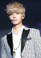 Luhan at the EXO Lost Planet in Singapore, August 23, 2014