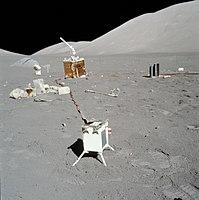 Remains of human activity, Apollo 17's Lunar Surface Experiments Package