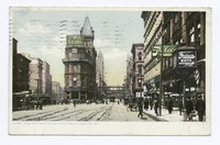 Junction of Main and Delaware Streets in 1898