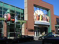 Entrance of the American Jazz Museum