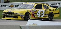 The No. 43 driven by Michael Annett at Road America in 2013