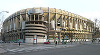 Castellana northwest external view of the stadium