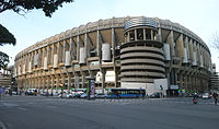 Castellana southwest external view of the stadium