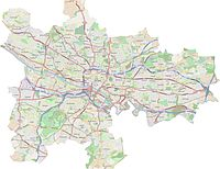 Areas of Glasgow. Click to enlarge.