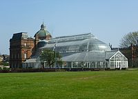 People's Palace museum on Glasgow Green
