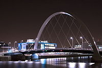 """Clyde Arc, also known as """"Squinty Bridge"""""""