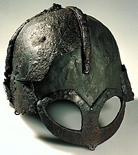 The Gjermundbu helmet found in Buskerud is the only known reconstructable Viking Age helmet