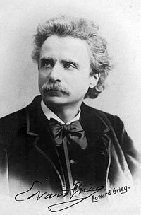 Edvard Grieg, composer and pianist