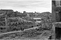 Bombing of Kristiansund. The German invasion resulted in 24 towns being bombed in the spring of 1940.