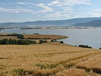Agriculture is a significant sector, in spite of the mountainous landscape (Øysand)