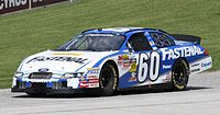 Carl Edwards at Road America in 2010