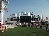 """The World Stage at the """"Rock in Rio"""" music festival"""