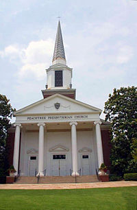 Peachtree Presbyterian Church in Atlanta, GA is currently the largest PC(USA) congregation