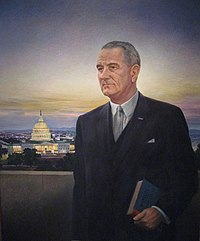 Johnson's image as it appears in the National Portrait Gallery in Washington, D.C.