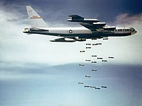 Tens of thousands of civilians were killed during the American bombing of North Vietnam in Operation Rolling Thunder.