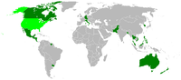 Countries visited by Johnson during his presidency