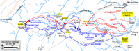 Lee's retreat and Grant's pursuit in the final Appomattox Campaign, April 2–9, 1865