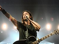 Grohl in July 2008