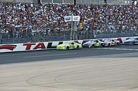 Menard leads at Talladega in 2006