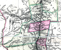 Albany County in 1777