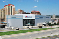 The Times Union Center in Albany, the largest sporting and concert venue in the Capital District