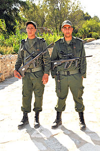 Soldiers of the Tunisian Armed Forces