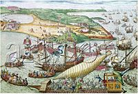 Conquest of Tunis by Charles V and liberation of Christian galley slaves in 1535