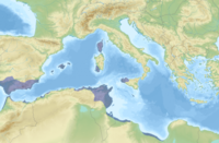 Carthaginian-held territory before the first First Punic War