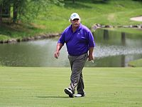 Stadler at the 2011 Principal Charity Classic.