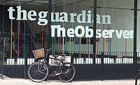 The Guardian headquarters in London