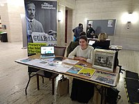 The Guardian Foundation at the Senate House History Day, 2019.