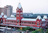 Puratchi Thalaivar Dr. M.G. Ramachandran Central Railway Station, one of India's major railway stations