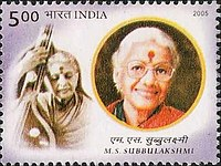 M. S. Subbulakshmi was the first musician to be awarded the Bharat Ratna, India's highest civilian honour.