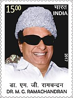 M. G. Ramachandran, was the first actor turned chief minister in India. He has been awarded the Bharat Ratna, India's highest civilian honour.