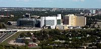 Foothills Medical Centre in Calgary is the largest hospital in Alberta.