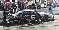 1989 Winston Cup car on pit road at Phoenix