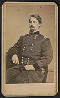 Major General Winfield Scott Hancock. From the Liljenquist Family Collection of Civil War Photographs, Prints and Photographs Division, Library of Congress