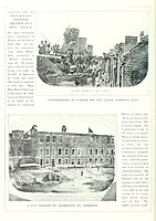Views of Ft Sumter; [Bottom] View of right angle