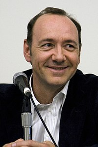 Spacey at the San Diego Comic-Con 2008