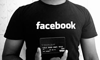 """A Facebook """"White Hat"""" debit card, given to researchers who report security bugs."""