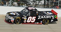 Boswell made two Truck Series starts in 2016 at Eldora and Homestead in the No. 05 as a sub for the injured John Wes Townley.