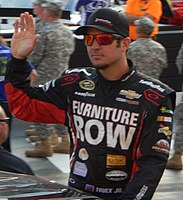 Martin Truex Jr. scored the team's second win and second Chase berth in 2015.