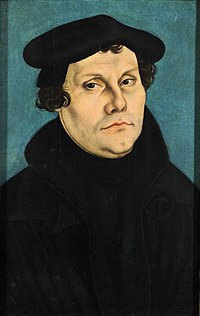 Martin Luther (1483–1546), Protestant Reformer