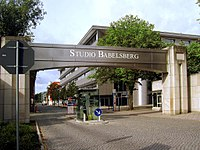 Babelsberg Studio near Berlin, the world's first large-scale film studio