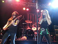 Ford performing with Patrick Kennison