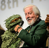Spinney with Oscar the Grouch, May 2014