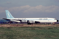 A Somali Airlines Boeing 707-320B at Fiumicino Airport (1989).