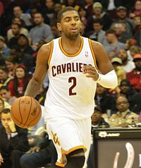 Irving with the Cleveland Cavaliers in October 2013